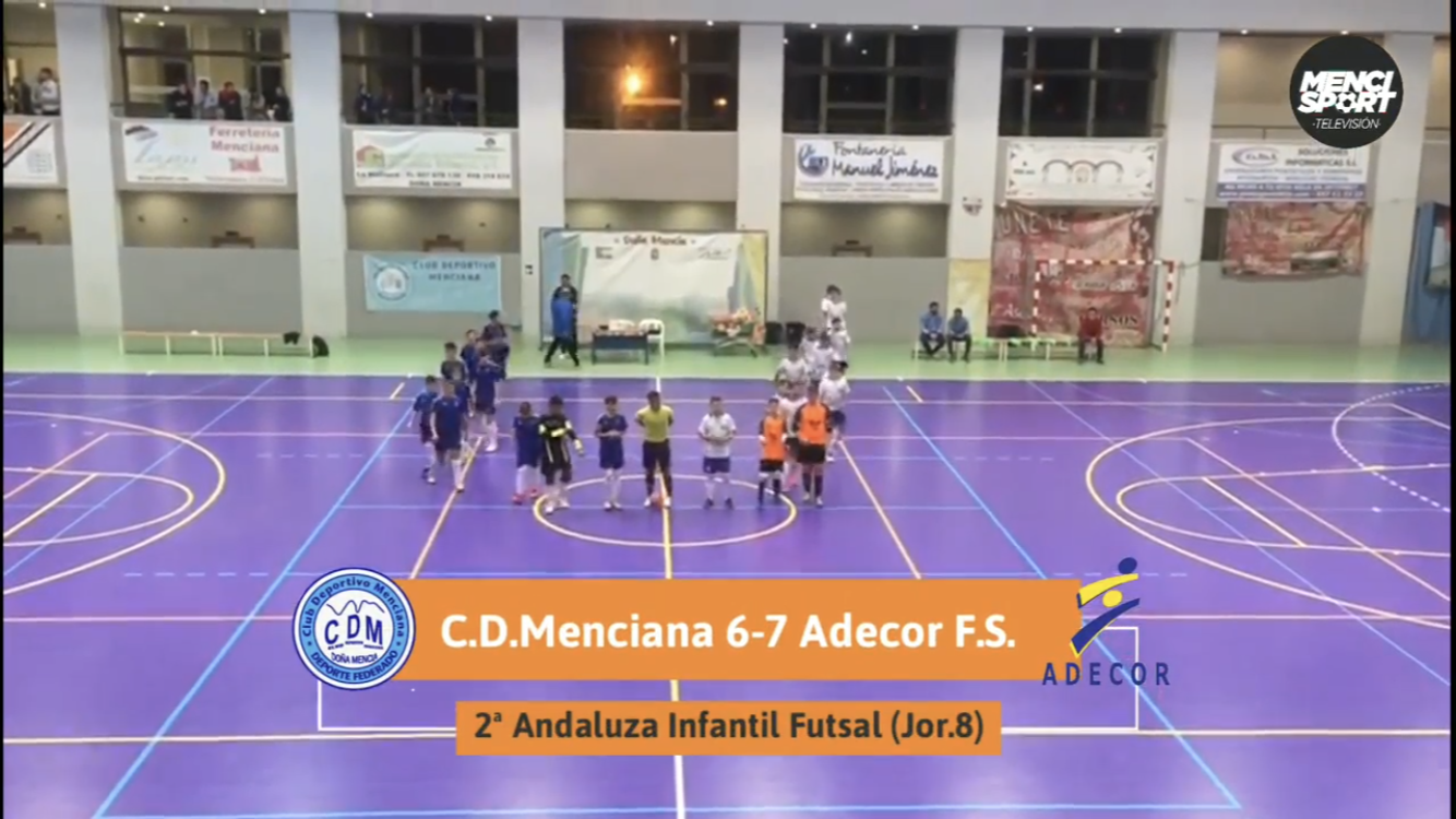 Photo of Mencisport TV | Resumen CD Menciana 6-7 Adecor FS (2ª Andaluza Infantil FS J.8)