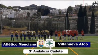 Photo of Mencisport TV | Atlético Menciano 3-1 Villanueva Atlético | 3ª Andaluza Cadete